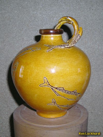 Sgraffito Bottle