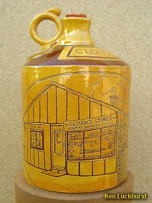 Clough's Stores Flagon