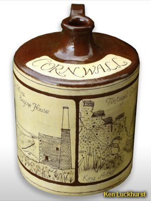 Cornwall Scenes Flagon