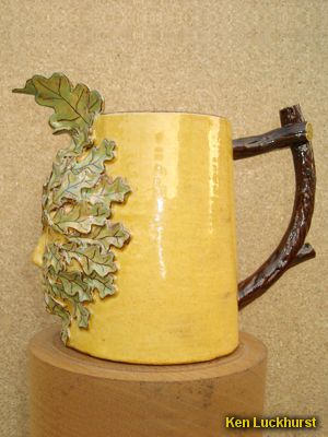 <i>Green Man</i> Jug