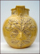 Green Man Jug