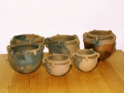 Lugged vessels from Lizard clay